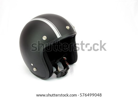 Helmets Racing Cafe styles vintage black.