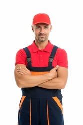 Help around house handyman service. Man helpful laborer. Repair and renovation. Repair tips. Guy worker in uniform. Builder regular worker. Handyman services concept. Handyman professional occupation.