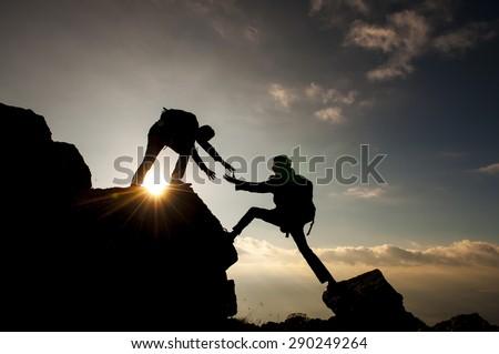 help climbing a mountain