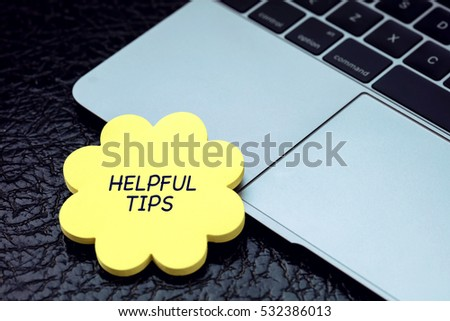 Helpful Tips, Business Concept