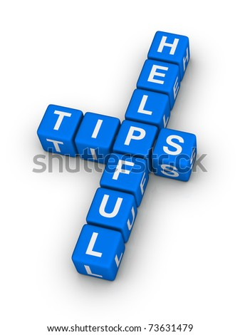 helpful tips symbol - stock photo