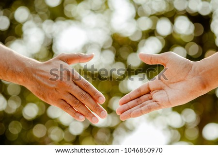 helping hand concept.Thank You For Your Support. how can i help you. international day of peace.develop a friendship.please help me.