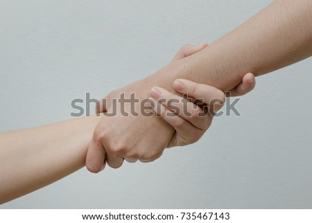 Helping Hands ,hand in hand relationship #735467143
