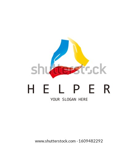 helping hands helping people helping others