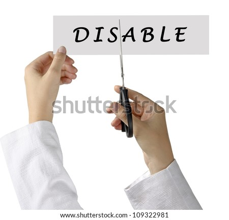 Helping with disability
