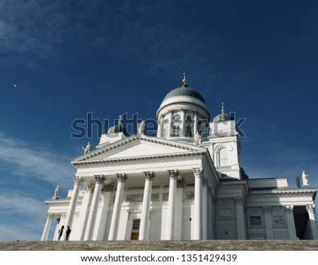 Helsinki Cathedral, Beautiful Architecture and Landscape in Helsinki, Finland #1351429439