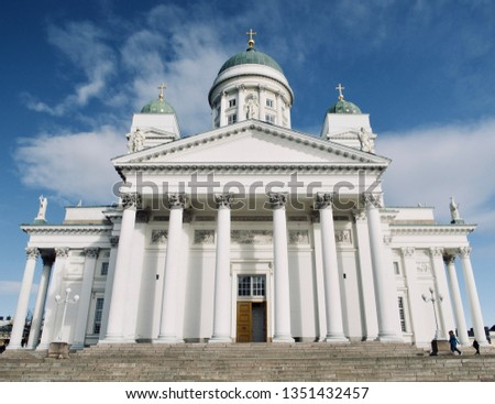 Helsinki Cathedral, Beautiful Architecture and Landscape in Helsinki, Finland #1351432457