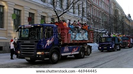 HELSINKI,FINLAND - FEBRUARY 18:  \
