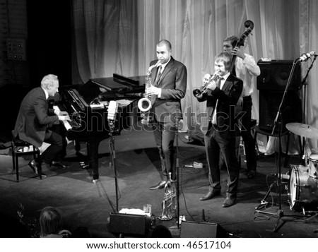 Helsinki Finland February 11 The Five Corners Quintet Famous Finnish Modern Jazz Band