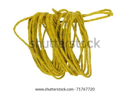 Hemp for rope, tie things. Knitting things.
