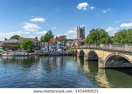 Henley on Thames in Oxfordshire