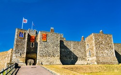 Henry II's Great Tower of Dover Castle in Kent - England, UK