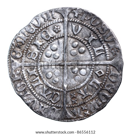 Henry VI groat, rosette-mascle issue, Calais mint, 1430-1431, reverse, in very fine condition