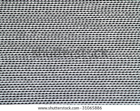 hepa air filter element made out of aluminum wafers