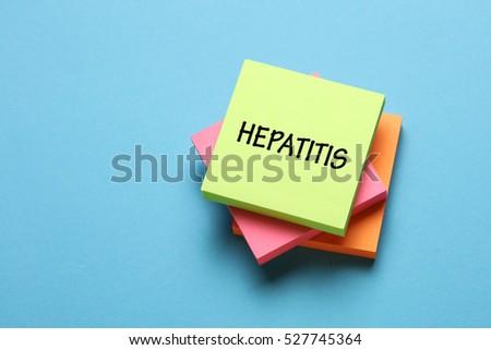 Hepatitis, Health Concept
