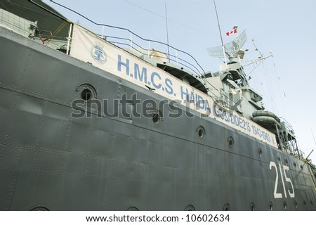 Her Majesty's Canadian Ship Haida