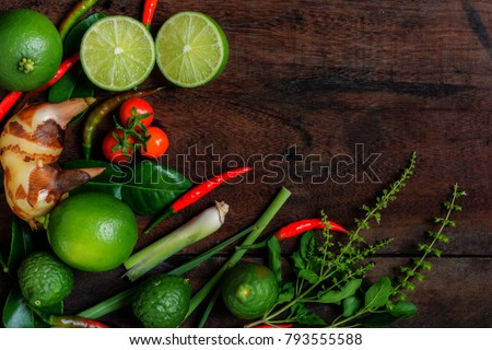 Free photos recipe book with fresh herbs south asia and spices on herb and spicy ingredients for making thai food recipe book with fresh herbs south asia forumfinder Images