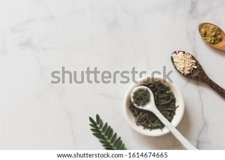 Herb medicine organic natural in the laboratory.marijuana. turmeric.food nutrition healthy and wellness Stock photo ©