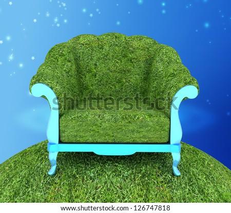Herbal armchair