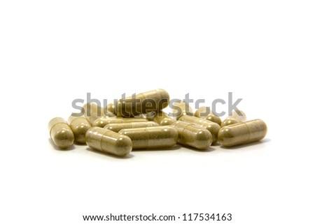 herbal drug capsule