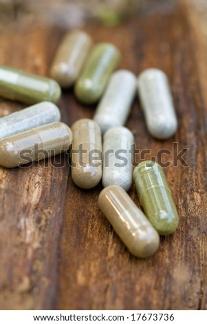 Herbal medications.