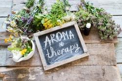 Herbs medicine flowers/aromatherapy set