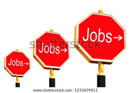 Here's to the jobs. Here's the way to work and the job  #1233609811