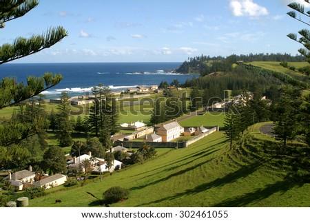 Heritage listed buildings on Norfolk Island