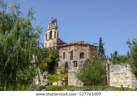Hermitage of Our Lady of Solitude in Soria, Castilla la Vieja Spain