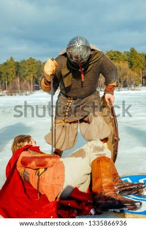 Heroic battles games. On the holiday of Maslenitsa