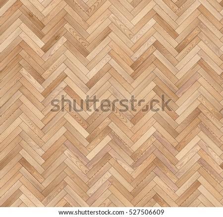 Herringbone natural parquet seamless floor texture
