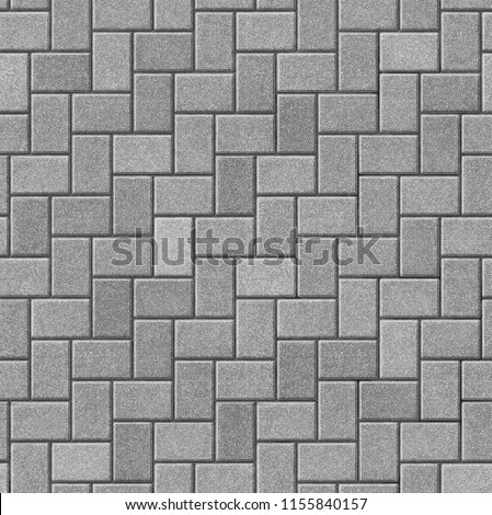 Herringbone pattern paving seamless texture