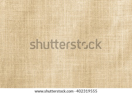 Shutterstock Hessian sackcloth woven texture pattern background in yellow beige cream brown color tone: Eco friendly raw organic flax cloth fabric textile backdrop: Bag rope thread detailed textured burlap canvas