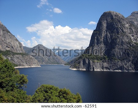 Hetch Hetchy in Yosemite National Park