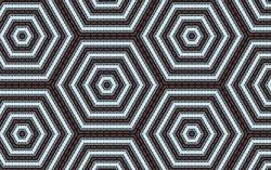 hexagonal kaleidoscope background, kaleidoscope pattern, abstract pattern