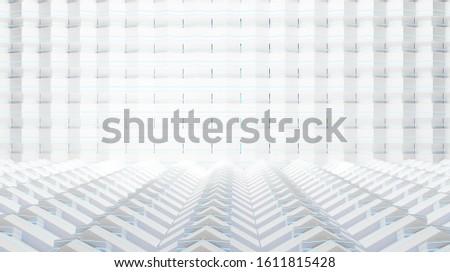 hexagonal structured creative blue light cells background design 3d-illustration