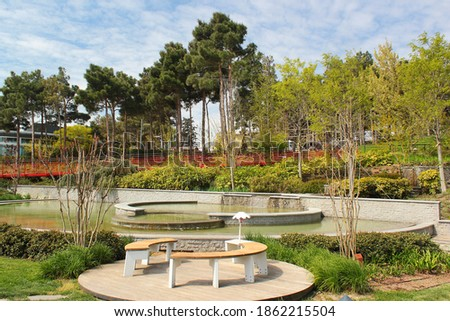Heydar Aliyev public park in Binagadi District of Baku, Azerbaijan