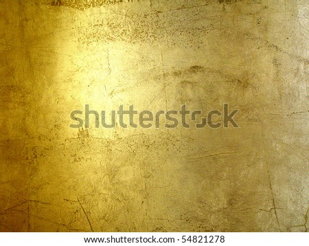 hi-res gold grunge background, raster illustration