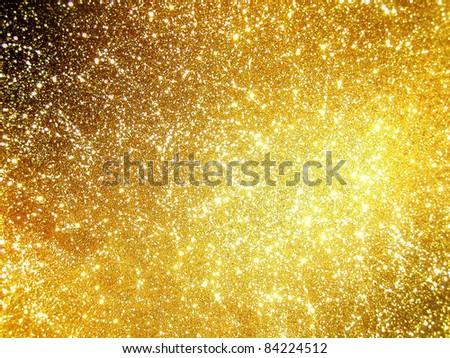 hi-res golden grunge background
