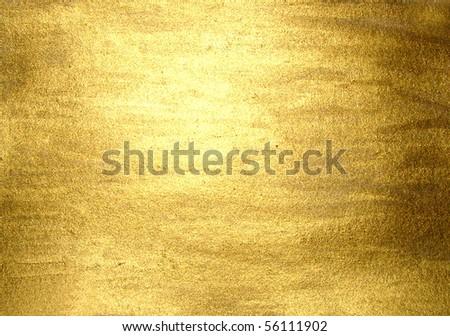 hi-res golden grunge background, raster illustration #56111902