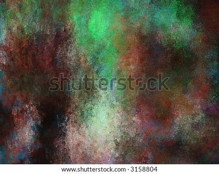 Hi-Res Painterly Textured Background