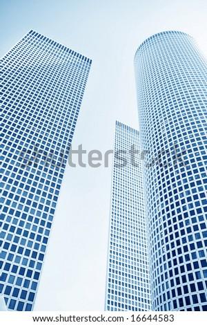 hi tech modern office building