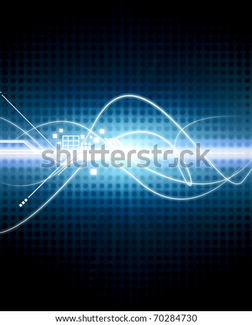 hi technology modern background abstraction