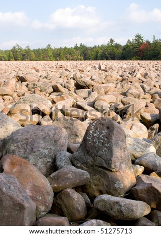 Hickory Run boulder field