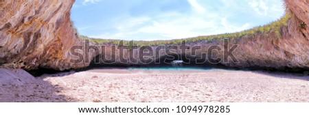 Hidden Beach in Puerto Vallarta Mexico