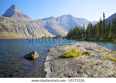 Hidden Lake, Glacier National Park, Montana, United States.