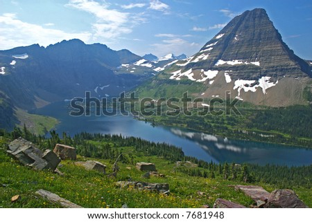 Hidden Lake in Glacier NP, Montana
