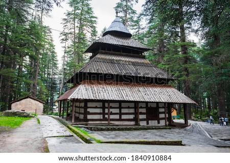 Hidimba Devi Temple or Hadimba or Dhungari Temple is a hindu temple n Manali, Himachal Pradesh in north India