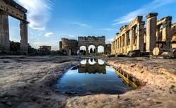 Hierapolis ancient city Pamukkale Turkey
