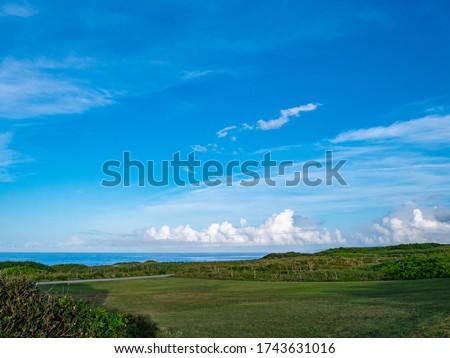 Higashi-hennazaki Cape is one of Japan's top 100 scenic spots. Higashi-hennazaki Cape is located in the easternmost part of Miyakojima (Miyako Island), Okinawa Prefecture, Japan.